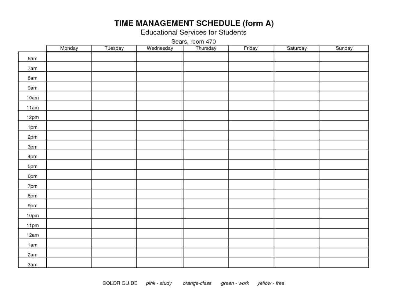 franklin covey calendar template