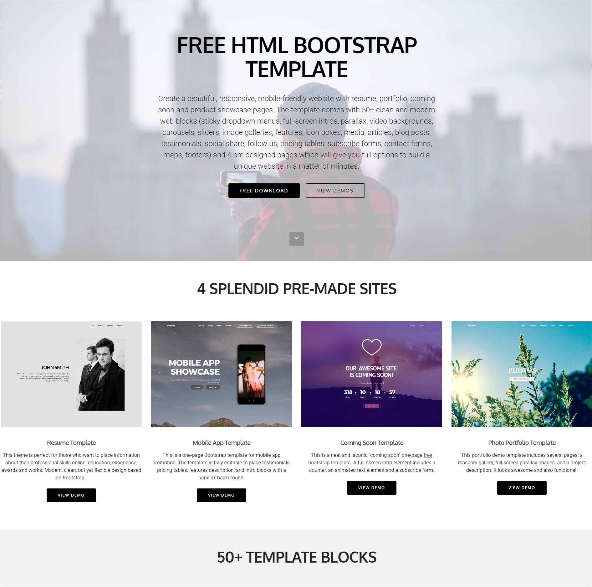 Free Auction HTML Templates 39 Brand New Free HTML Bootstrap Templates 2018