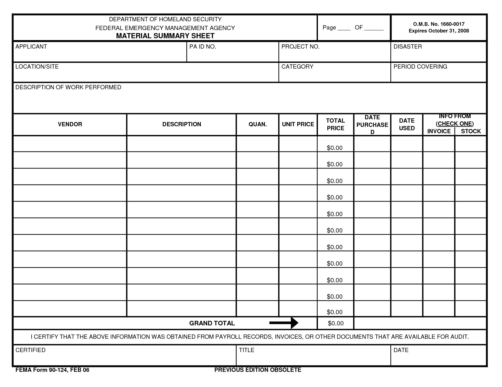 free auto repair invoice template