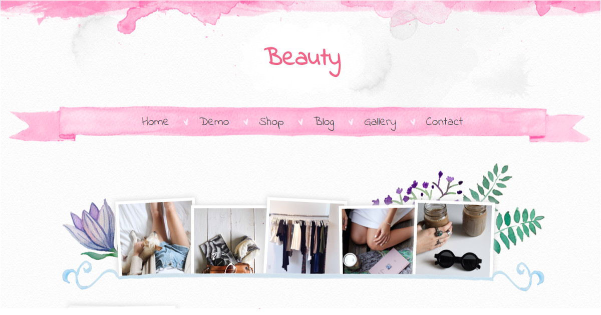 Free Beauty Blog Templates Beauty Blogger Template Blogger Templates Gallery