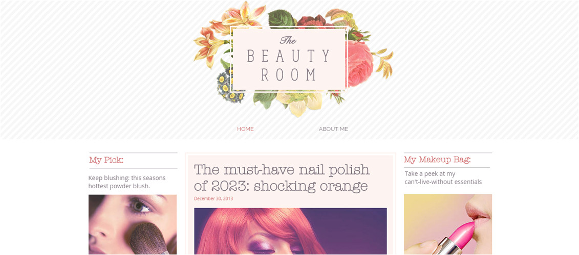 free blog templates from wix