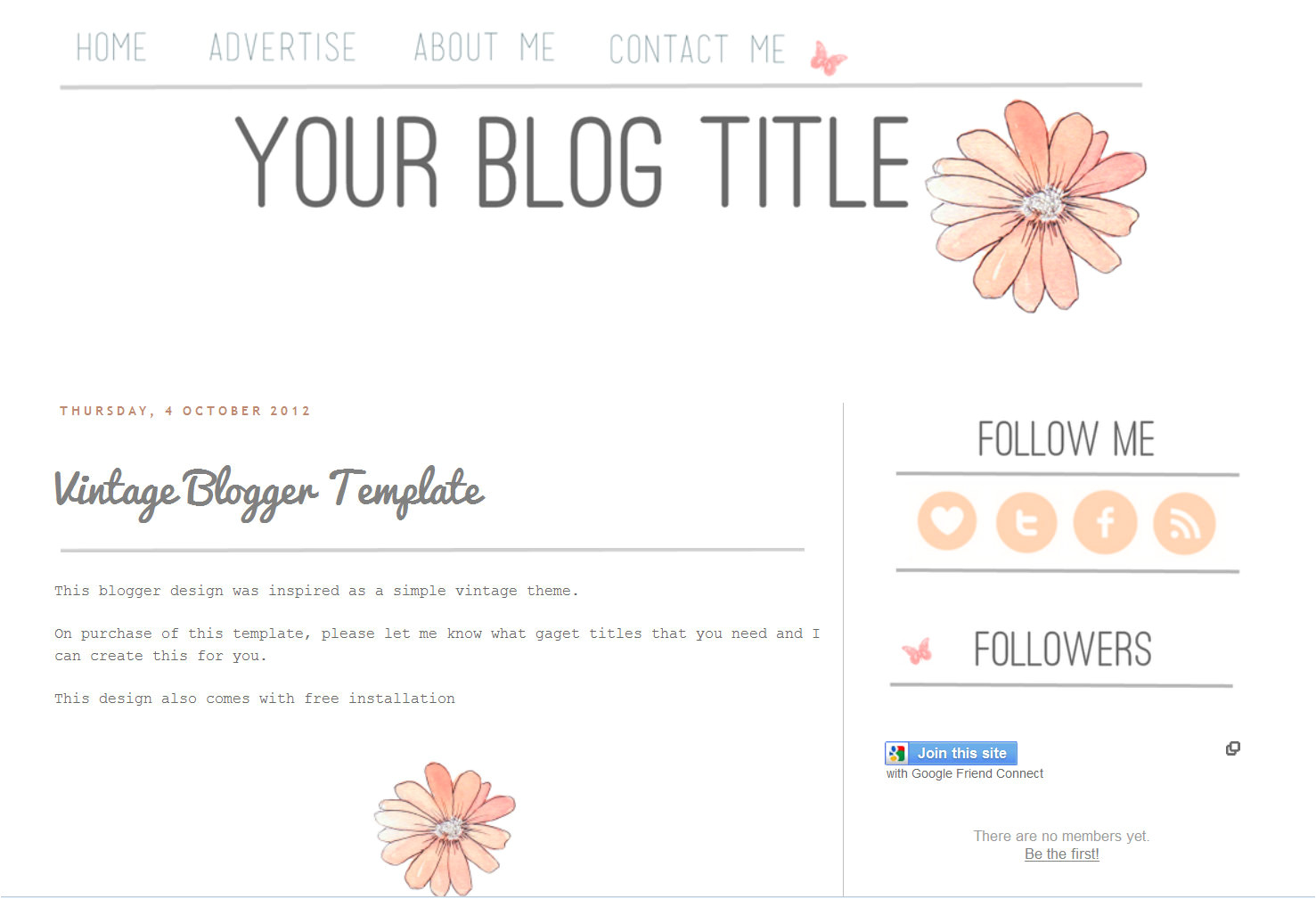 Free Blog Templates for Blogspot Free Blog Templates Cyberuse