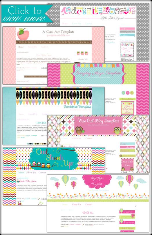 premade blogger templates
