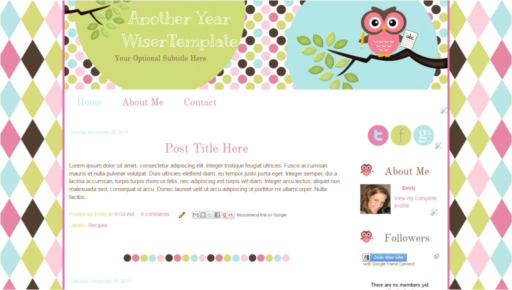download free software blogger templates for teachers