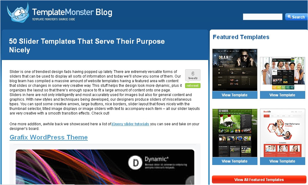 where to download blogger slider
