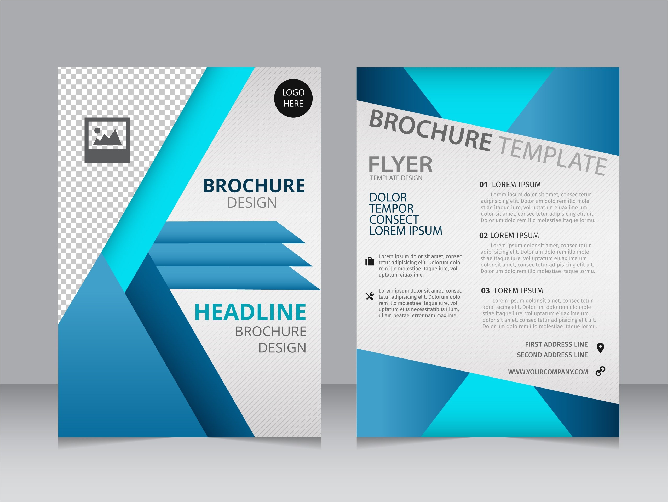 travel brochure templates