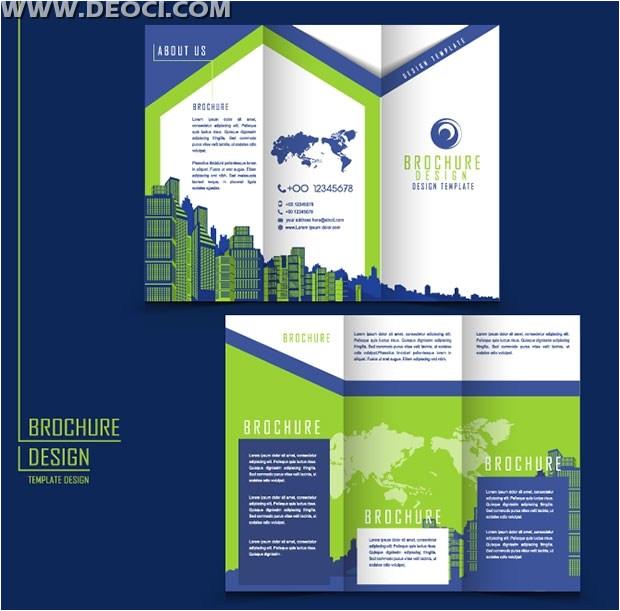 advertising brochure design templates ai download