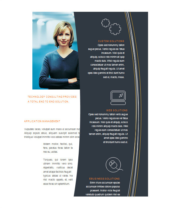 Free Brochure Template Downloads for Microsoft Word Microsoft Brochure Template 49 Free Word Pdf Ppt