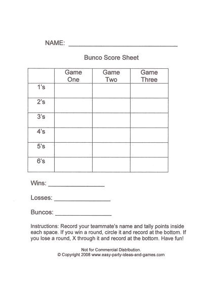 post free printable tally sheets 162779
