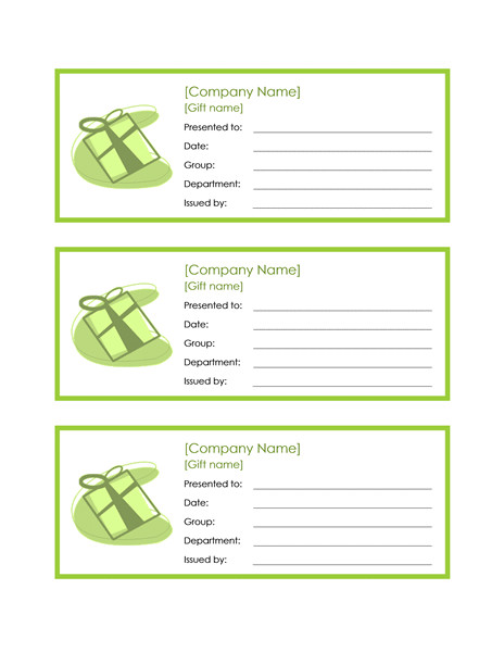 Free Certificate Templates for Word 2010 Employee Gift Certificate Template Word 2010 Free
