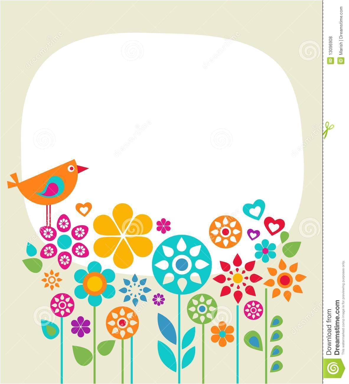 Free Complimentary Cards Templates Easter Card Template 1 Stock Illustration Illustration