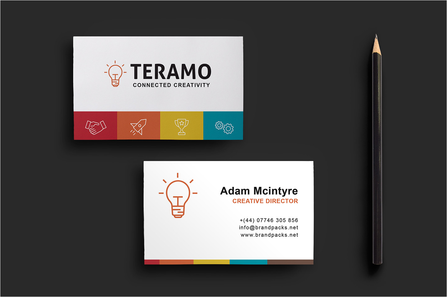 Free Complimentary Cards Templates Free Business Card Template In Psd Ai Vector Brandpacks