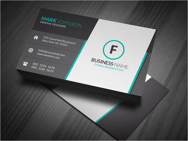 stunning corporate business card template