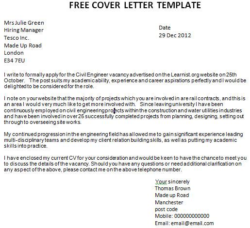 Free Covering Letter Template Uk Template Cover Letter Uk Http Webdesign14 Com