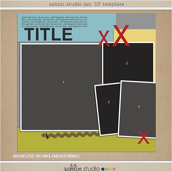 oct 12 digital scrapbooking free template