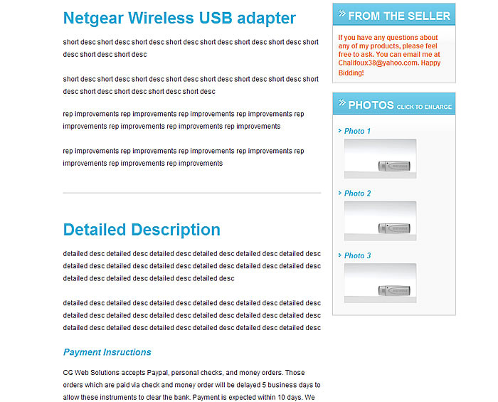free ebay templates builder