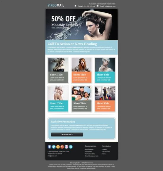 Free Email Templates for Mailchimp Best 25 Mailchimp Newsletter Templates Ideas On Pinterest