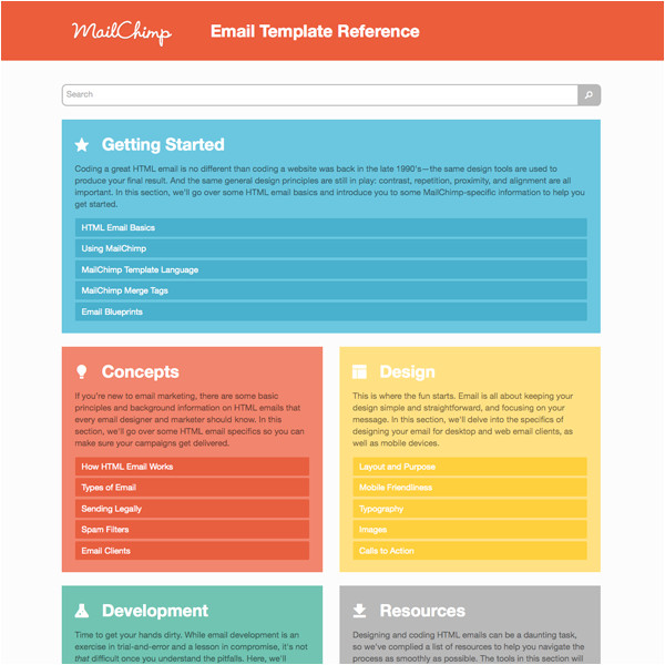 introducing mailchimps email template reference