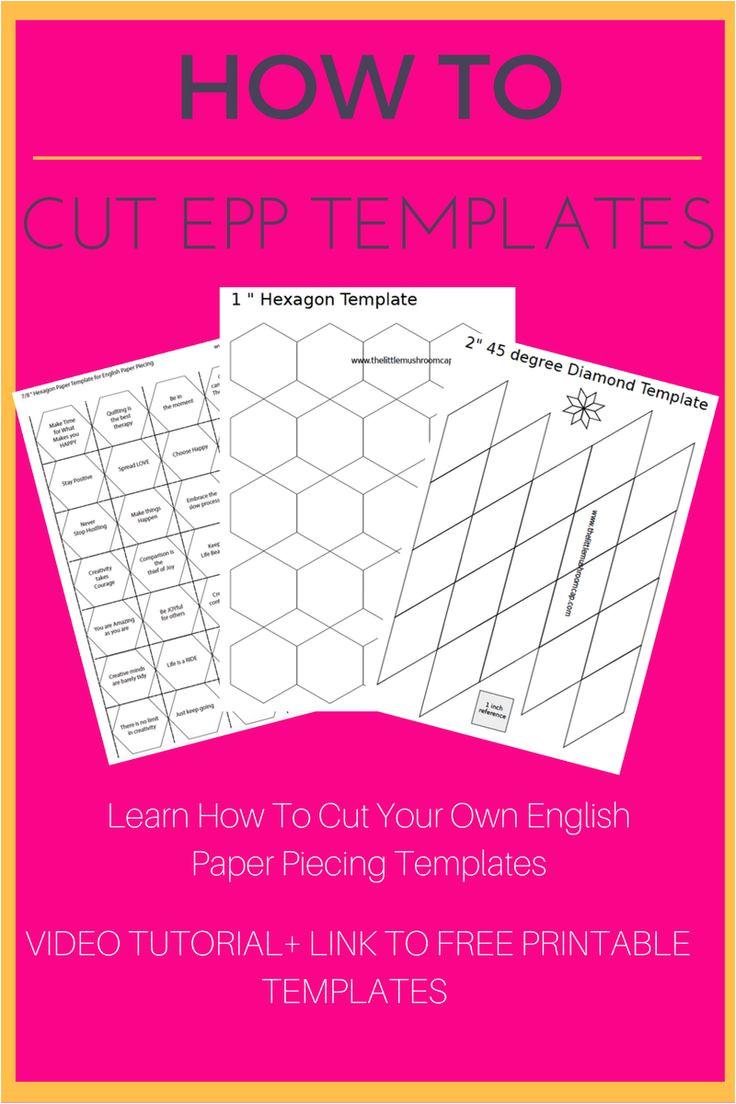 hexagonsenglish paper piecing