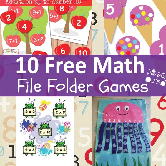 2nd grade file folder games printables