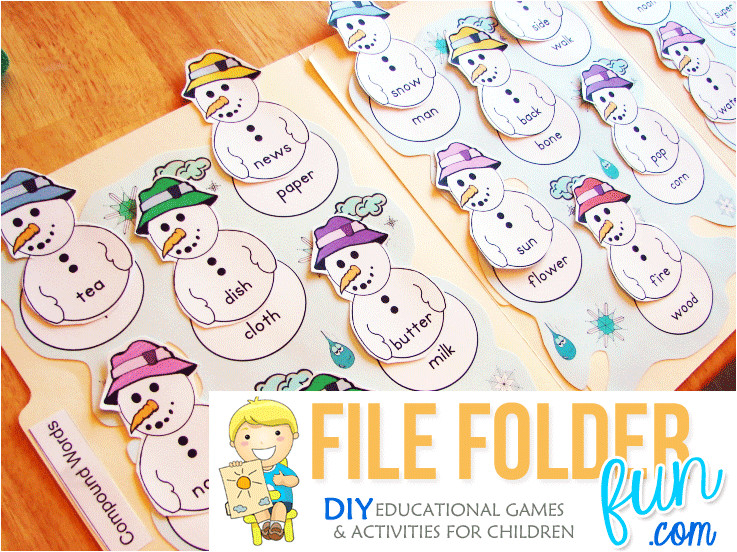 Free File Folder Game Templates What is A File Folder Game File Folder Fun