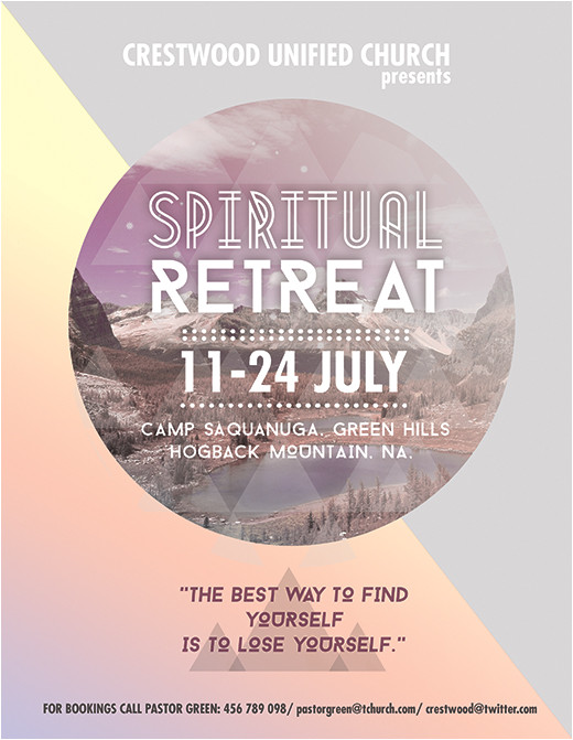 creative flyers templates religious spiritual event promotion