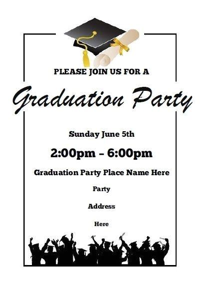 Free Graduation Announcements Templates Downloads Free Printable Graduation Announcements