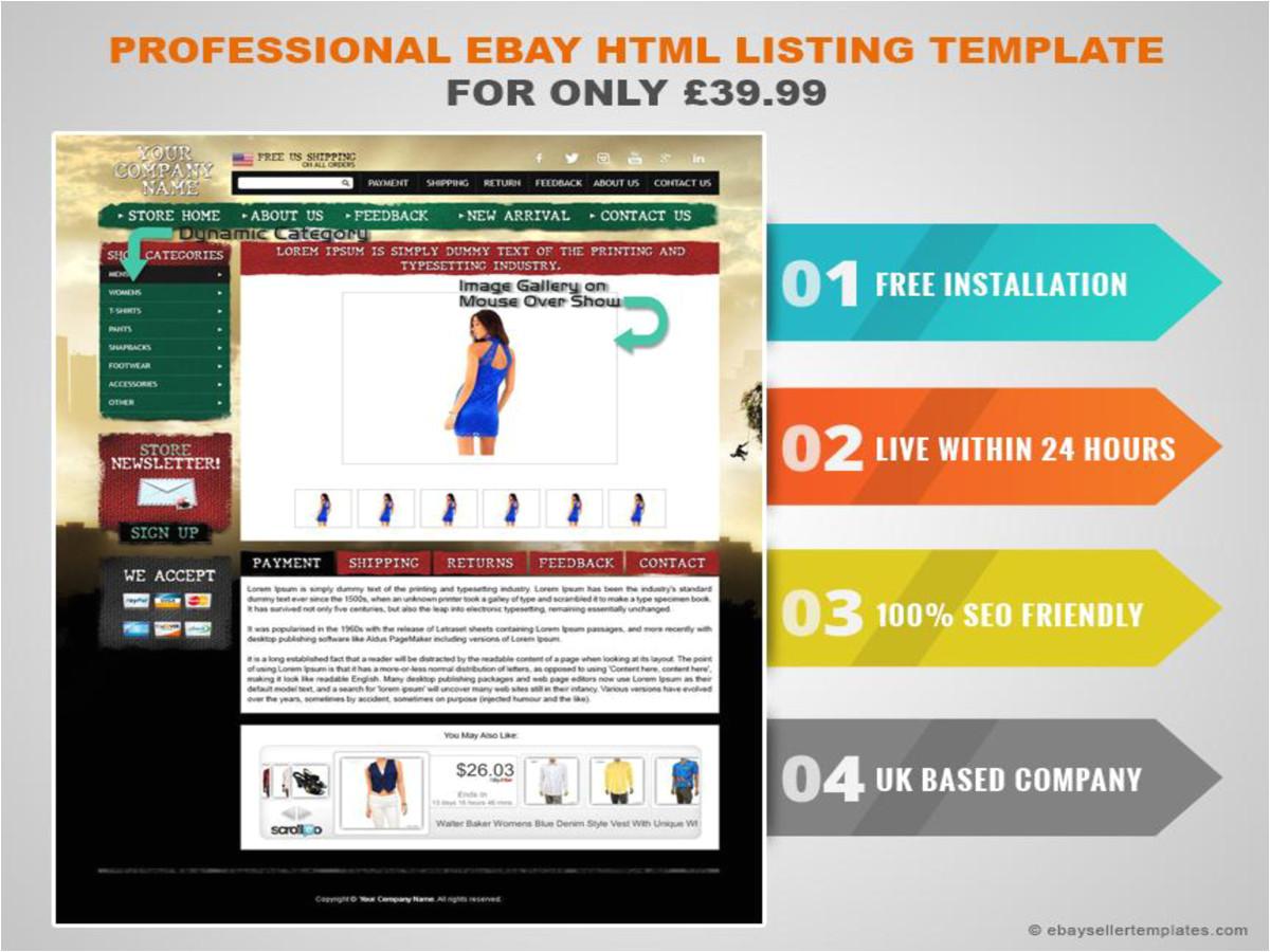 ebaysellertemplates 2741568 professional ebay html listing template 39 99