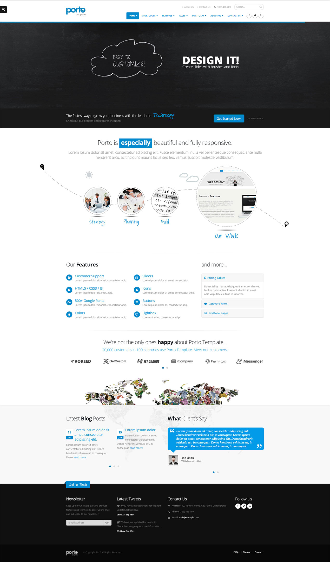 Free HTML5 Parallax Scrolling Template 40 Best Responsive Parallax Scrolling Website Template