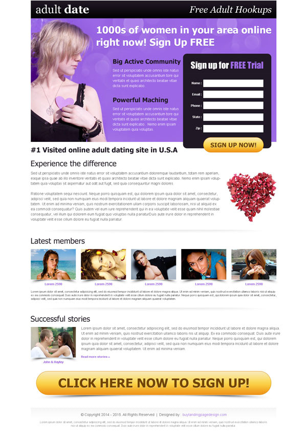 lead magnet landing page designs for effective conversion rate