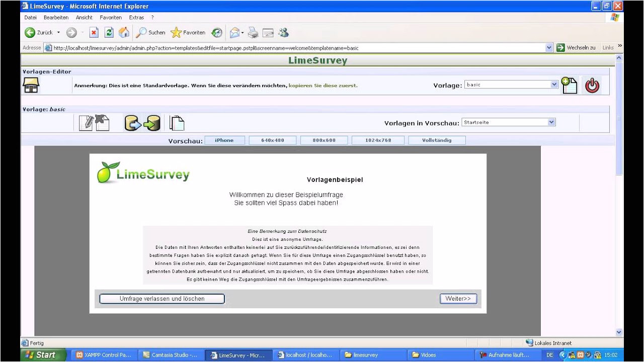 Free Limesurvey Templates Limesurvey Templates Youtube