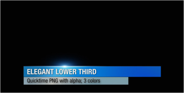 best lower thirds templates motion