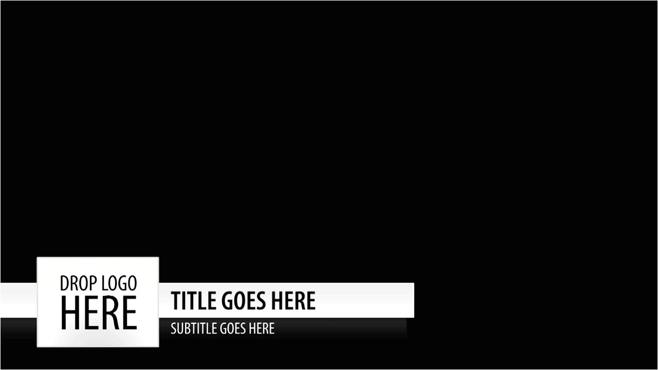 Free Lower Third Templates Motion Free Motion Template Clean Simple Lower Third Youtube