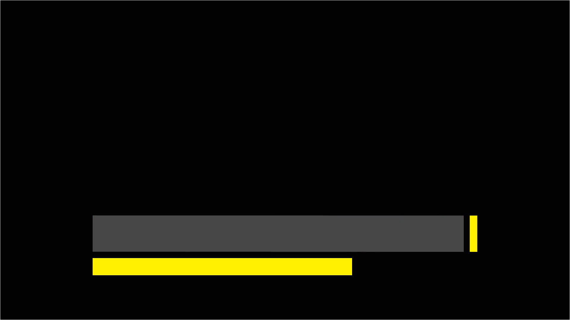 Free Lower Third Templates Motion Yellow and Gray Lower Third On Alpha Channel Motion