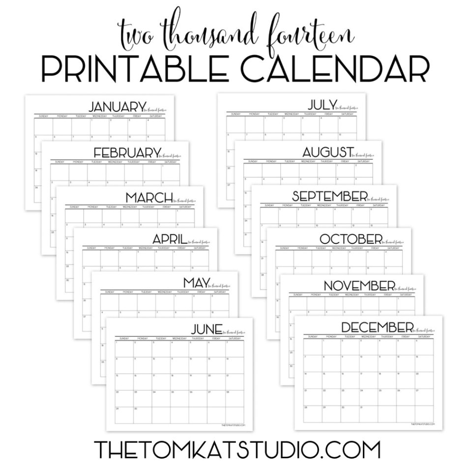 post printable monthly calendar templates 29520