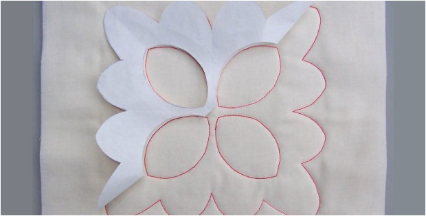 Free Motion Quilting with Freezer Paper Template Easy Walking Foot Quilting with Freezer Paper Quilting Cubby