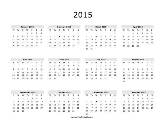2015 calendar comment 8555