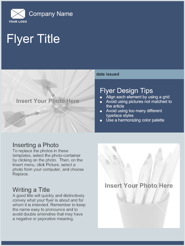 Free Online Flyer Templates for Word Free Flyer Template E Commerce
