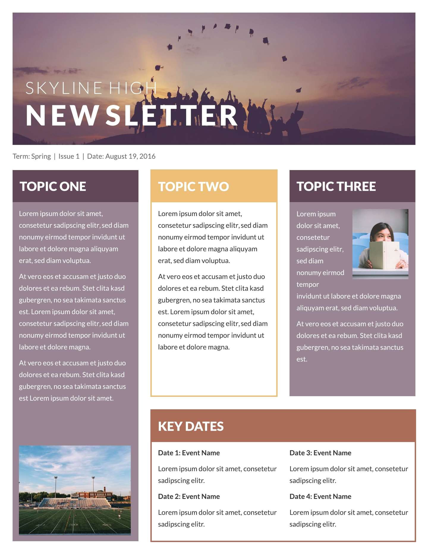 Free Online Newsletter Templates Pdf Free Printable Newsletter Templates Email Newsletter