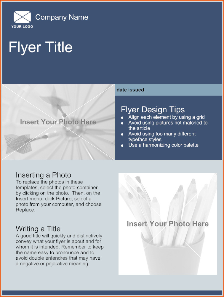 5 free online flyer templates