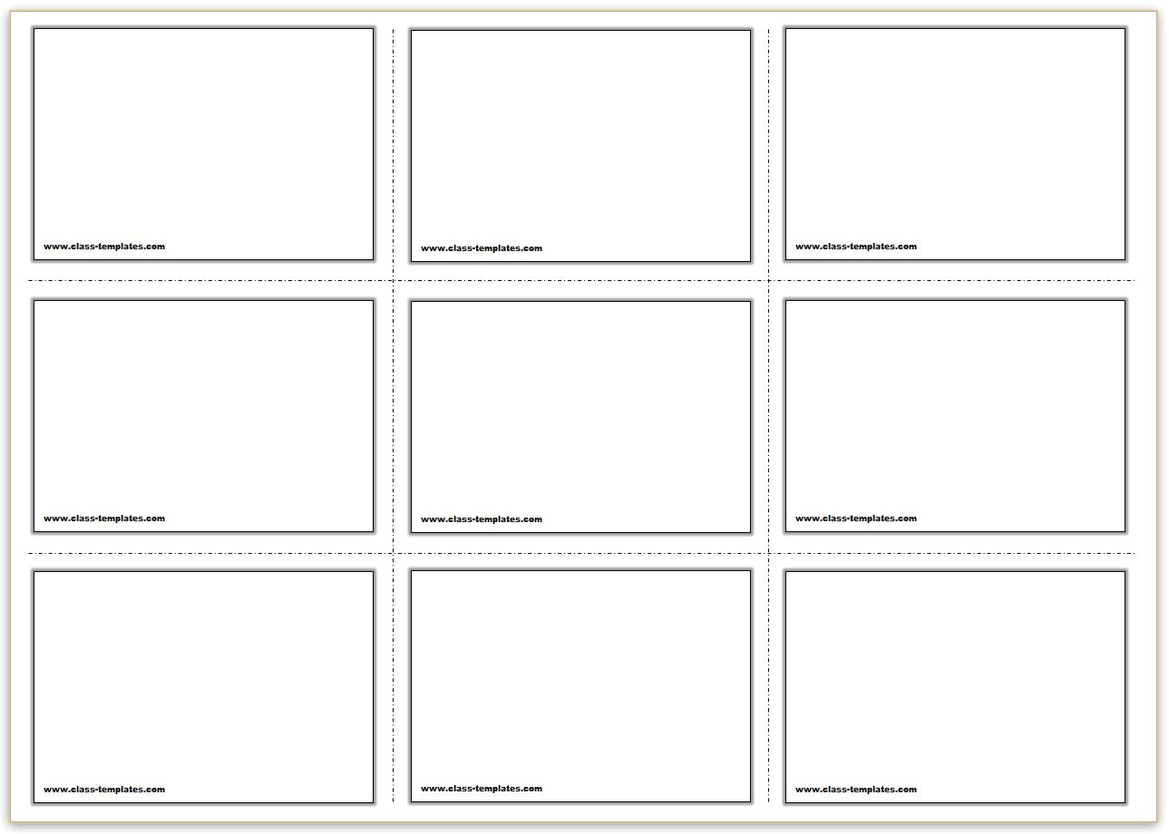 free printable flash cards