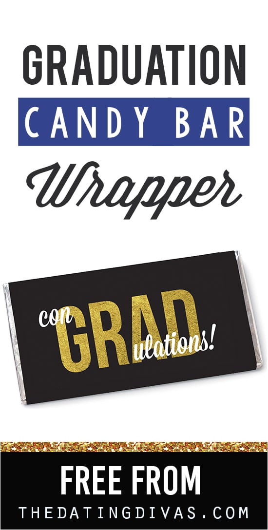Free Printable Graduation Candy Bar Wrappers Templates Quot Congrats Quot Candy Bar Wrappers the Dating Divas