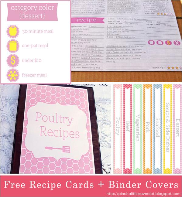 post family recipe binder free printables 212675