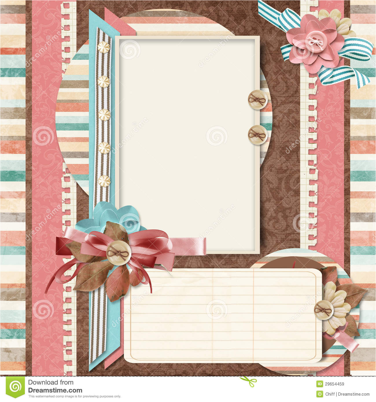 post design digital scrapbook templates 12963