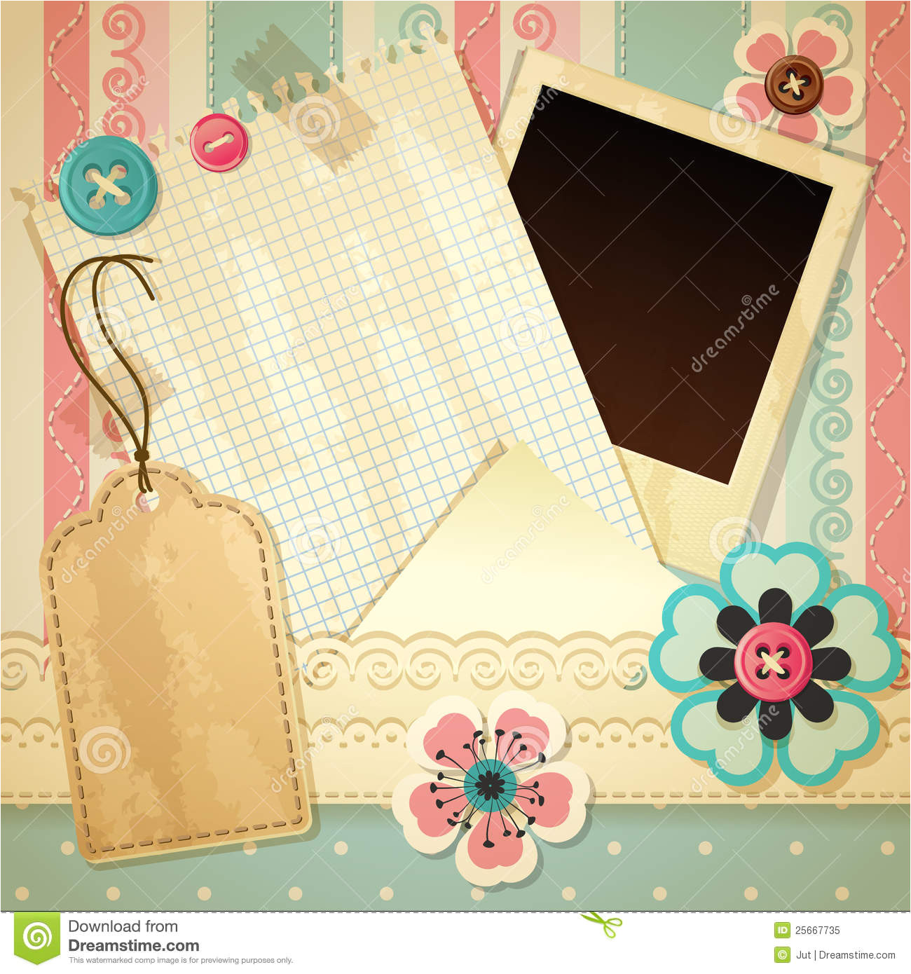royalty free stock photo scrapbook template image25667735