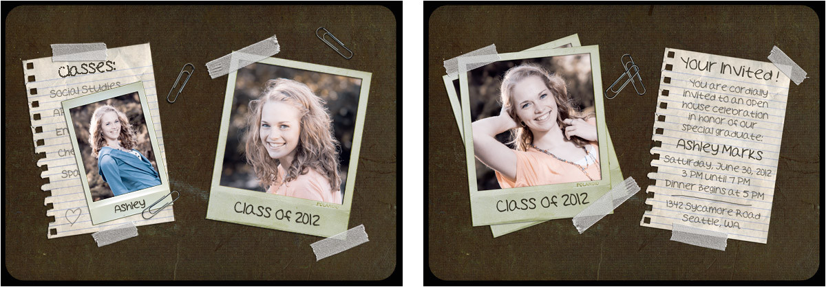 post free senior photoshop templates 402045
