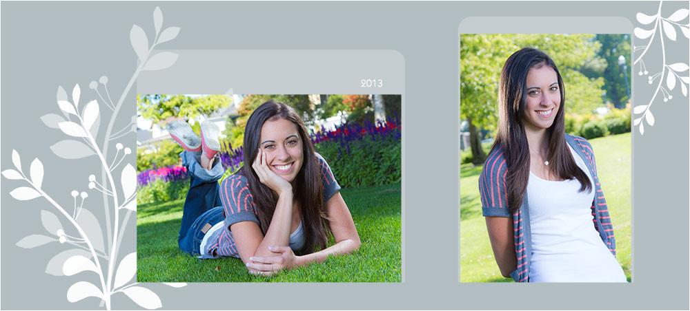 free accordion templates for senior portraits