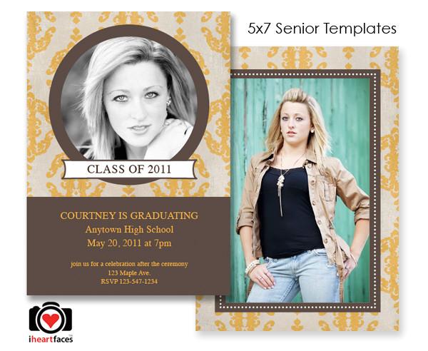 free graduation photoshop templates