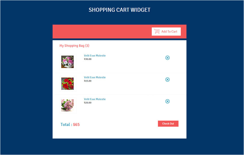 Free Shopping Cart Templates HTML Shopping Cart Responsive Widget Template by W3layouts