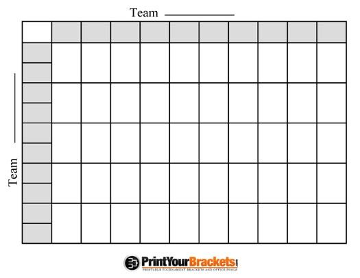 super bowl football pool template